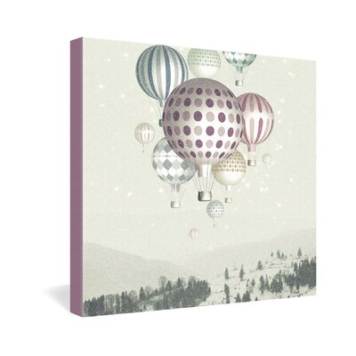DENY Designs Belle13 Winter Dreamflight Gallery Wrapped Canvas