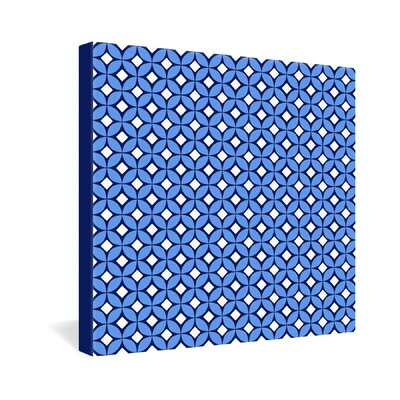 DENY Designs Caroline Okun Blueberry Gallery Wrapped Canvas