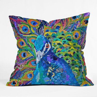 DENY Designs Elizabeth St Hilaire Nelson Cacophony of Color Polyester Throw Pillow