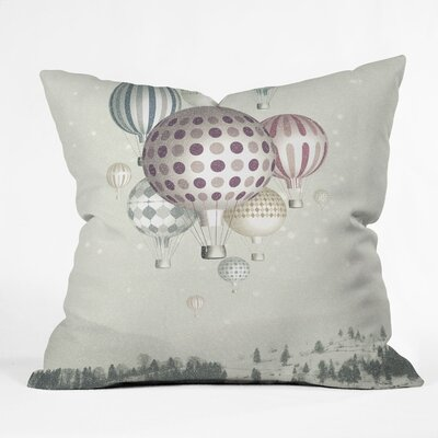 DENY Designs Belle13 Winter Dreamflight Polyester Throw Pillow