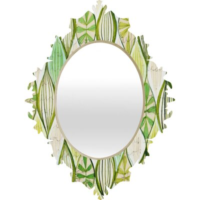 DENY Designs Cori Dantini Green  Baroque Mirror