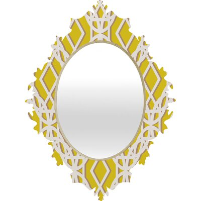 DENY Designs Aimee St Hill Diamonds Baroque Mirror