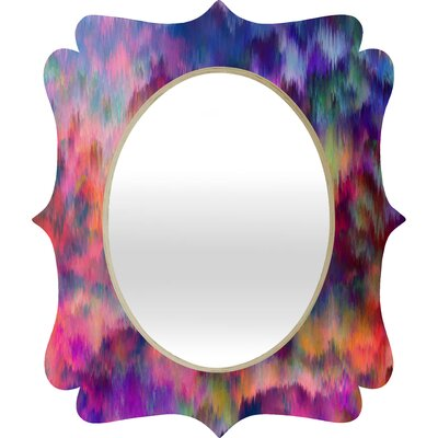 DENY Designs Amy Sia Sunset Storm Quatrefoil Mirror