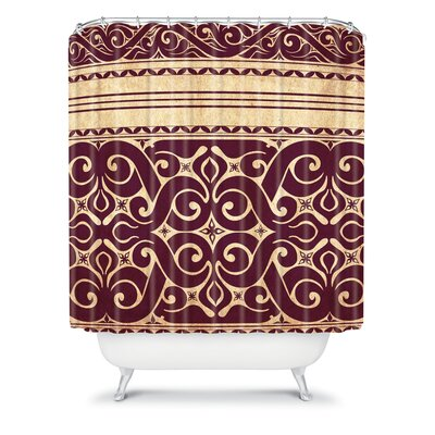 DENY Designs Arcturus Beru Polyester Shower Curtain
