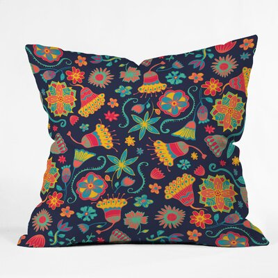 DENY Designs Arcturus Bloom 1 Polyester Throw Pillow