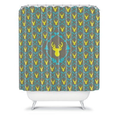 DENY Designs Bianca Oh Deer 3 Polyester Shower Curtain