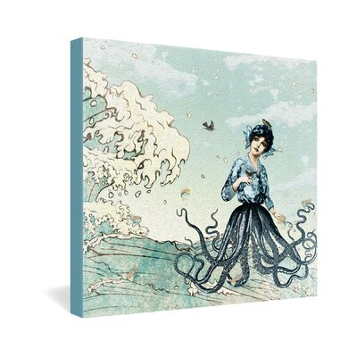 DENY Designs Belle13 Sea Fairy Gallery Wrapped Canvas