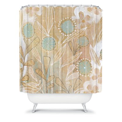 DENY Designs Cori Dantini Woven Polyester Floral Shower Curtain