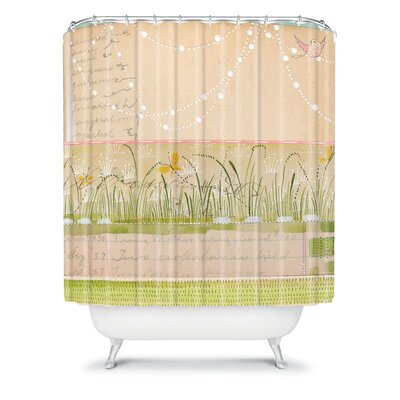 DENY Designs Cori Dantini Woven Polyester Horizontal Shower Curtain