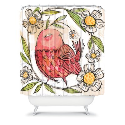 DENY Designs Cori Dantini Woven Polyester Turkey Shower Curtain