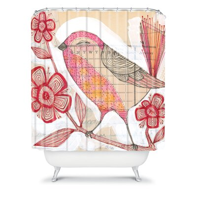 DENY Designs Cori Dantini Woven Polyester Wee Lass Shower Curtain