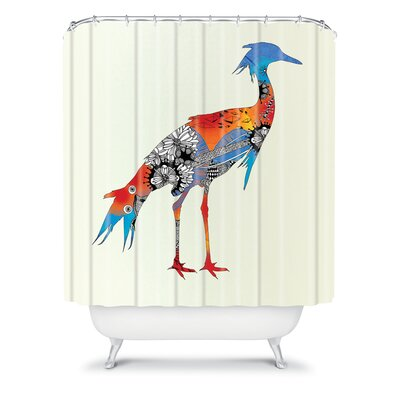 DENY Designs Iveta Abolina Polyester Bluebird Shower Curtain