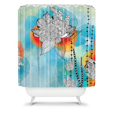 DENY Designs Iveta Abolina Polyester Shower Curtain
