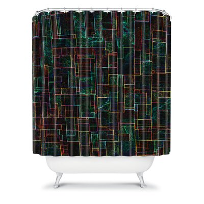 DENY Designs Jacqueline Maldonado Matrix Shower Curtain