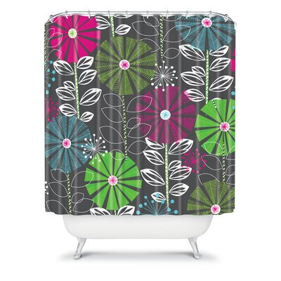 DENY Designs Khristian A Howell Woven Polyester Cape Town Blooms Shower Curtain