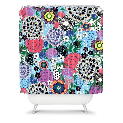DENY Designs Khristian A Howell Polyester Valencia 1 Shower Curtain