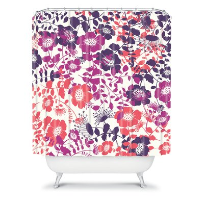 DENY Designs Khristian A Howell Woven Polyester Provencal Lavender 2 Shower Curtain