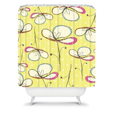 DENY Designs Rachael Taylor Polyester Floral Umbrellas Shower Curtain