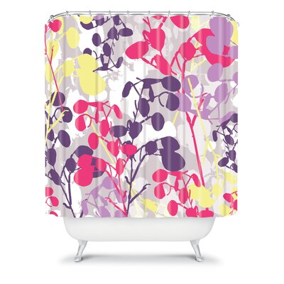 DENY Designs Rachael Taylor Polyester Textured Honesty Shower Curtain