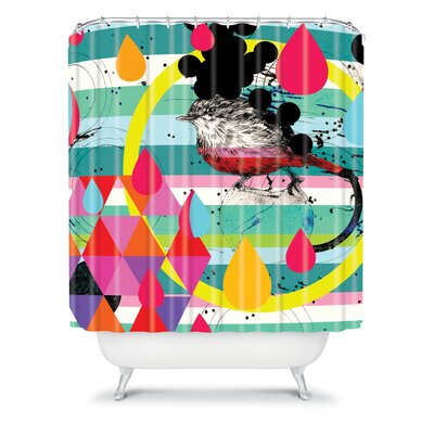 DENY Designs Randi Antonsen Polyester Luns Box 4 Shower Curtain