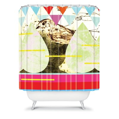 DENY Designs Randi Antonsen Polyester Luns Box 6 Shower Curtain