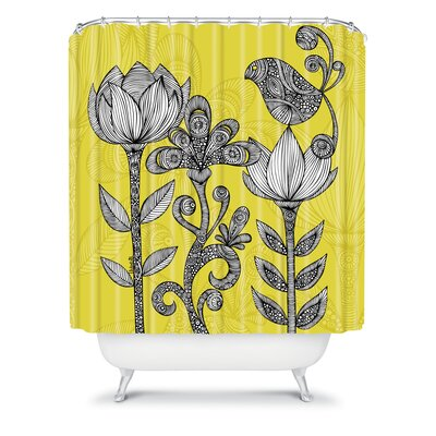 DENY Designs Valentina Ramos Green Garden Shower Curtain
