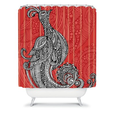 DENY Designs Valentina Ramos Polyester The Bird Shower Curtain