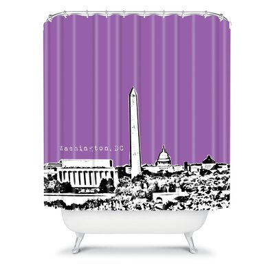 DENY Designs Bird Ave Woven Polyester Washington Shower Curtain