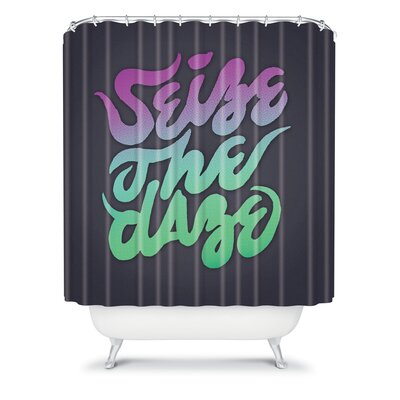 DENY Designs Wesley Bird Polyester Seize The Daze Shower Curtain
