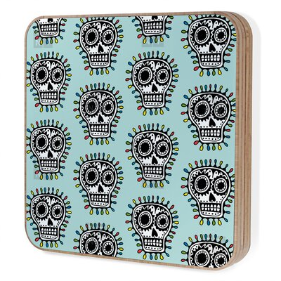 DENY Designs Andi Bird Sugar Skull Fun Bling Box