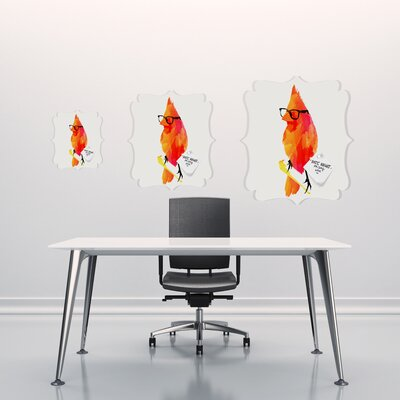 DENY Designs Robert Farkas Punk Bird Quatrefoil Memo Board
