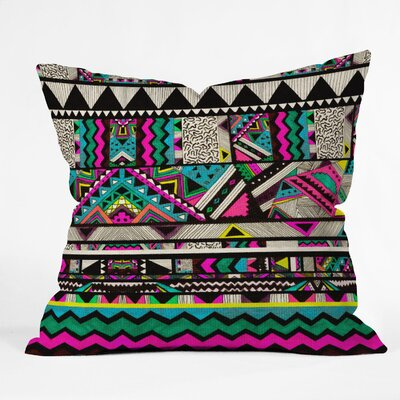 DENY Designs Kris Tate Woven Polyester Throw Pillow