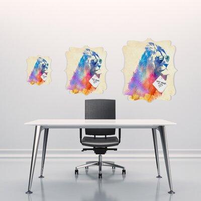 DENY Designs Robert Farkas Sunny Leo Quatrefoil Memo Board