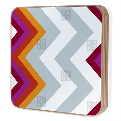 DENY Designs Karen Harris Modernity Solstice Warm Chevron Jewelry Box