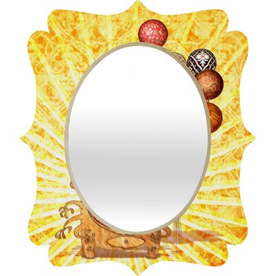 DENY Designs Jose Luis Guerrero Monster Quatrefoil Mirror
