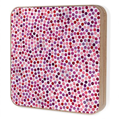 DENY Designs Garima Dhawan Watercolor Dots Berry Bling Box