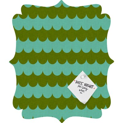 DENY Designs Holli Zollinger Waves of Color Quatrefoil Magnet Board