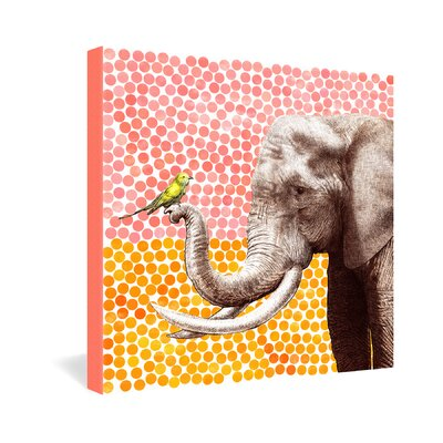 DENY Designs New Friends 2 by Garima Dhawan Graphic Art on Canvas