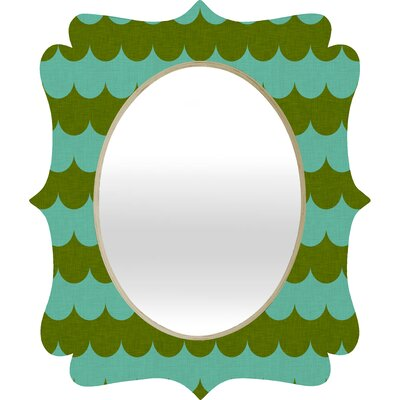 DENY Designs Holli Zollinger Waves of Color Quatrefoil Mirror