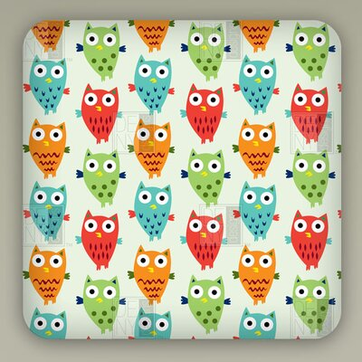 DENY Designs Andi Bird Owl Fun Wall Art