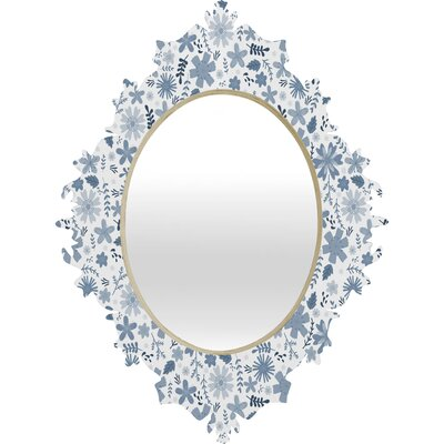 DENY Designs Jennifer Denty Genevieve Florals Big Mirror