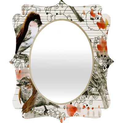 DENY Designs Randi Antonsen Love Birds Wall Mirror