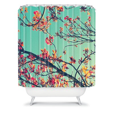 DENY Designs Shannon Clark Polyester Summer Bloom Shower Curtain
