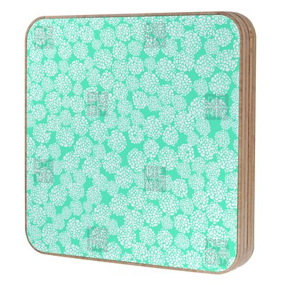 DENY Designs Joy Laforme Dahlias Seafoam BlingBox