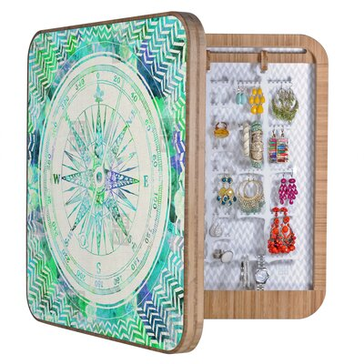 DENY Designs Bianca Green Follow Your Own Path Mint Jewelry Box