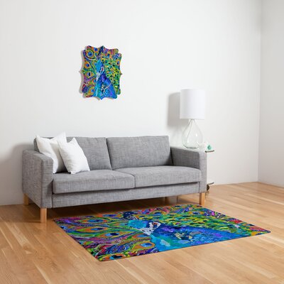 DENY Designs Elizabeth St Hilaire Nelson Cacophony of Color Novelty Rug