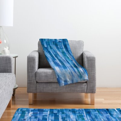 DENY Designs Jacqueline Maldonado Rain Polyester Fleece Throw Blanket