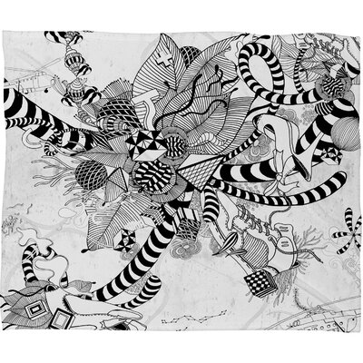DENY Designs Iveta Abolina Play Polyester Fleece Throw Blanket