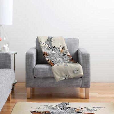 DENY Designs Iveta Abolina Floral 2 Polyester Fleece Throw Blanket