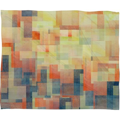 DENY Designs Jacqueline Maldonado Cubism Dream Polyester Fleece Throw Blanket